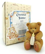Cherished Teddies No. 624896 BILLY, Baby Bear with Bottle Figurine - $12.87