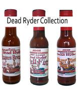 Gourmet Dead Ryder Series  Chilli Hot Sauces  -  3x150ml Carolina Reaper... - $25.46