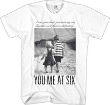 You Me At Six-Together We'd Float-X-Large White T-shirt - $9.74