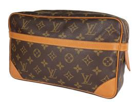 LOUIS VUITTON Compiegne 28 Monogram Canvas Pouch Clutch Bag LP4118 - $269.00