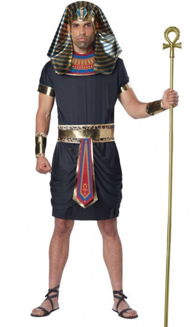 Deluxe Pharaoh Adult Costume - Men's