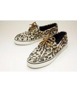 Sperry Top-Sider 7.5 Leopard Women's Boat Shoes - $26.00