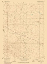 Emigrant Gap Wyoming Quad - USGS 1960 - 23 x 31.27 - $36.95+