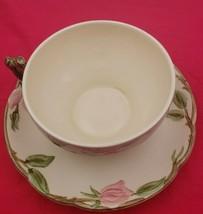 4 Vintage Franciscan Desert Rose Cups & Saucers - $29.00