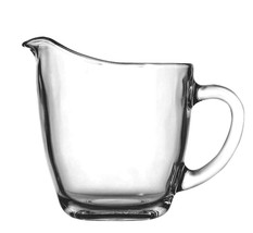 """Anchor Hocking 64191B 4"""" Glass Creamer with Handle - $8.37"""