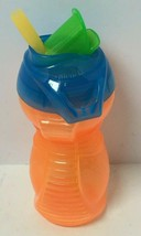 9OZ MUNCHKIN ORANGE/BLUE/GREEN SIPPY CUP, FREE SHIPPING - $8.91