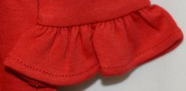 Blanks Boutique Long Sleeve Empire Waist Red Ruffle Dress Size 4T image 4