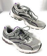 Rykä Revive 3 Ortholite Flyknit Running Shoes Gray Purple Women's 6.5 - $42.56