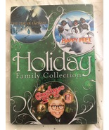 Holiday Family Collection 3 DVD Set Polar Express Happy Feet A Christmas... - $28.95