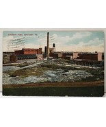 Lancaster Pa Linoleum Plant 1920 to New Holland Pennsylvania Postcard F5 - $8.99