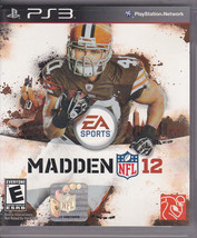MADDEN NFL 12 - PS3 EA Sports 2011 - Sports / Football - Used in case - VG - $4.00