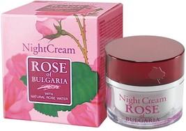 BioFresh ROSE OF BULGARIA Night Cream Women With Natural Rose Water 50ml - $12.94