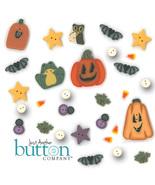 Button Pack 30 buttons (alternate) 9305 Halloween Rules Flip It JABC Liz... - $42.93