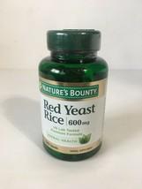 Nature's Bounty Red Yeast Rice 600 mg Herbal Health 120 Capsules, Exp 03... - $12.87