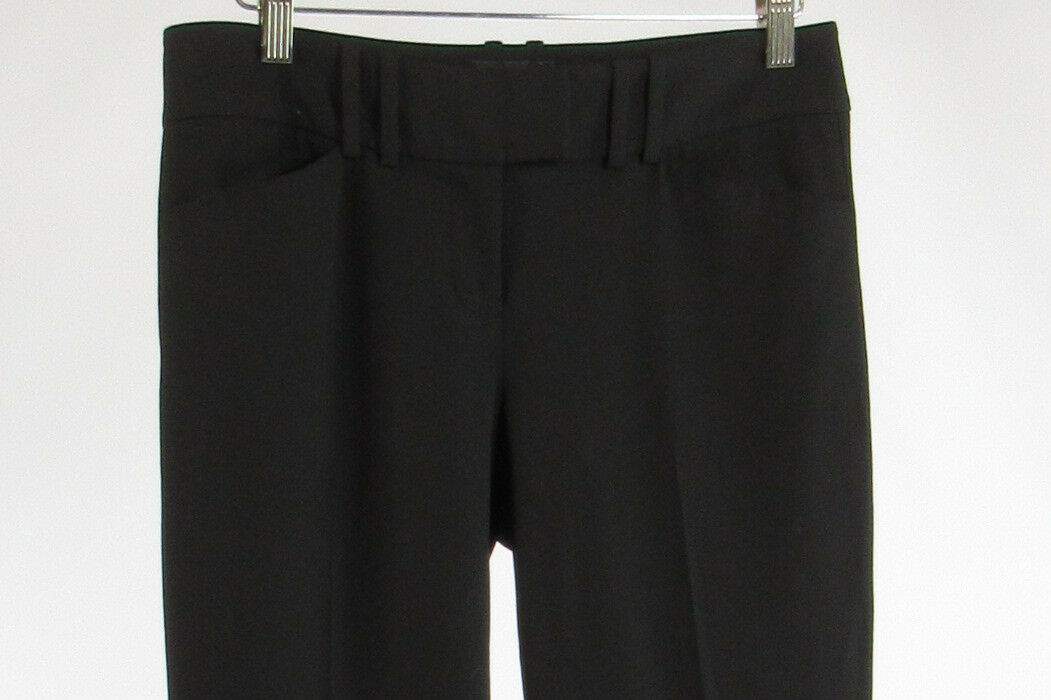 Black THE LIMITED Cassidy Fit straight leg dress pants 2 2L