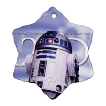 Star Wars R2D2 Procelain Ornaments (Snowflake) Christmas - $6.99