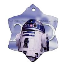 Star Wars R2D2 Procelain Ornaments (Snowflake) Christmas - $6.99