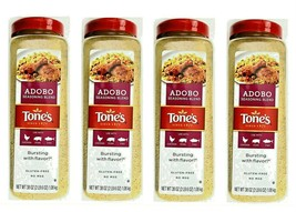 4x Tone's Adobo Seasoning Blend for Chicken Pork Fish TOTAL 9LB Appr BB:Sep/2021 - $53.45