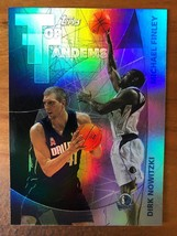 Dirk Nowitzki / Michael Finley 2002-03 Topps Top Tandems Basketball Card... - $4.36