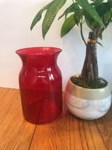 Royal Ruby Red vase Ships N 24h - $21.54
