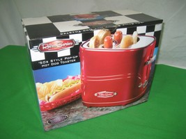 Nostalgia Electrics 50's Style Pop-Up Hot Dog Toaster Retro Series NIB - £14.58 GBP