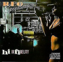 Reo Speedwagon ( Hi Infidelity)  CD - $2.50