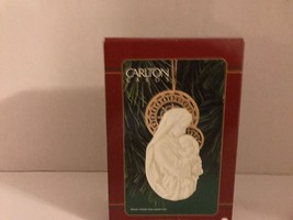 Carlton Cards Ornament. A Child Is Born, Mother And Child. *NEW In Box* - $6.76
