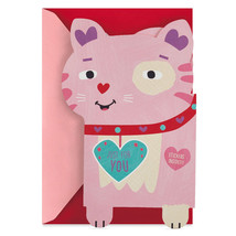 You Gotta Be Kitten Me Valentine's Day Card Money Holder With Stickers W... - $3.99