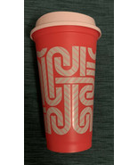 Starbucks Holiday 2020 COLOR CHANGE Candy Cane Reusable Hot Cup RED Colo... - $9.90