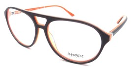 Starck Eyes Mikli Rx Eyeglasses Frames SH3028 0013 57x14 Matte Dark Grey... - $134.64