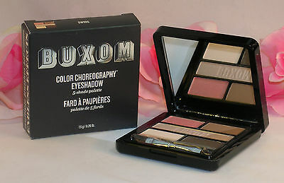 Primary image for New Buxom Eye Shadow Color Choreography 5 Shade Pallette Swing Pink Grey Tan