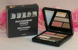 New Buxom Eye Shadow Color Choreography 5 Shade Pallette Swing Pink Grey... - $18.99