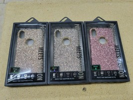 Bulk Wholesale Lot of 48 iPhone X Cases - Glitter - 3 Colors  New in Box... - $79.19