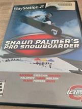 Sony PS2 Shaun Palmer's Pro Snowboarder (no manual) image 1