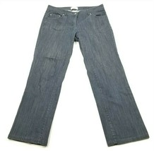 Talbots Womens Petites Stretch Straight Leg Jeans Size 6 Blue Jeans - $17.34