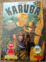 KARUBA TILE GAME HABA #300933 NEW FACTORY SEALED AGES 8 TO 99 - $30.00