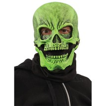 Morris Costumes 1071NBS Uv Green Sock Skull Mask - One Size Days Until SHIPPED:7 - $53.81