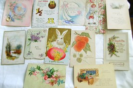 Vintage1909- 1943 Greeting Cards & Posstcards Lot 1 - $6.00