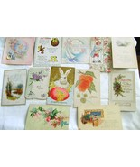 Vintage1909- 1943 Greeting Cards & Posstcards Lot 1 - $6.00