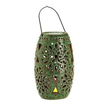 Battery Powered Candles, Ceramic Lantern with Votive Decor Flameless Can... - $75.79