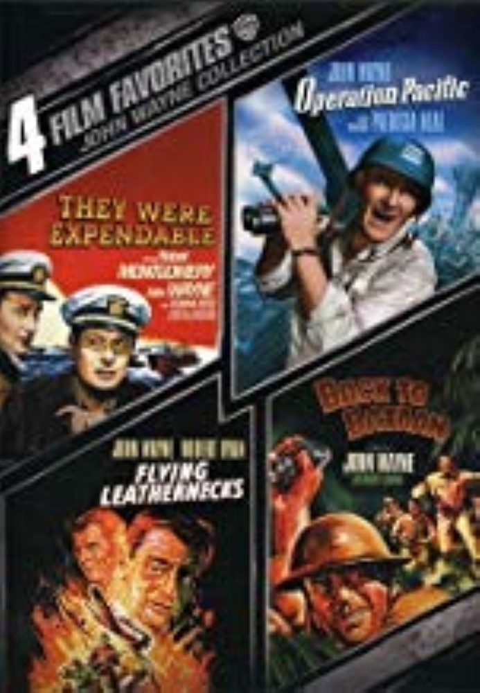 4 Film Favorites: John Wayne Collection Dvd