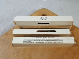 Lot of 3 Vintage Garland Ball Point Pens New in Box Advertising Custom - $25.98