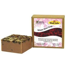 KHADI ABEERS WINTER ROSE LUXURY SOAP - $13.71