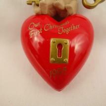 Vintage Hallmark Keepsake Ornament Our First Christmas Together 1995 image 2