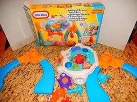 LITTLE TYKES MUSICAL OCEAN 3 IN 1 GYM- INFANT TOY- BOXED- GOOD - $9.45
