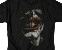 Batman Smile of Evil Joker DC Comics graphic adult t-shirt BM2014 image 2