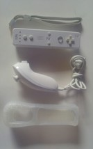 Official *AUTHENTIC* Original OEM Nintendo Wii WIRELESS CONTROLLER White... - $16.80
