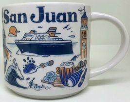 Starbucks 2019 San Juan, Puerto Rico Been There Collection Coffee Mug NE... - $34.95