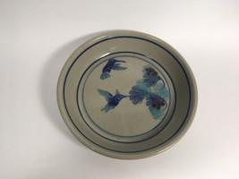 """Pottery Glazed Stoneware Pie Dish Hummingbirds Flowers 10.5"""" - $14.99"""