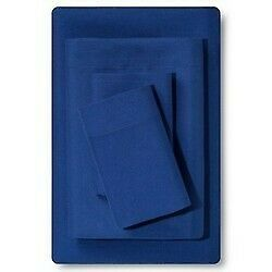 Microfiber Sheet Set Sapphire  blue (Full) - Room Essentials